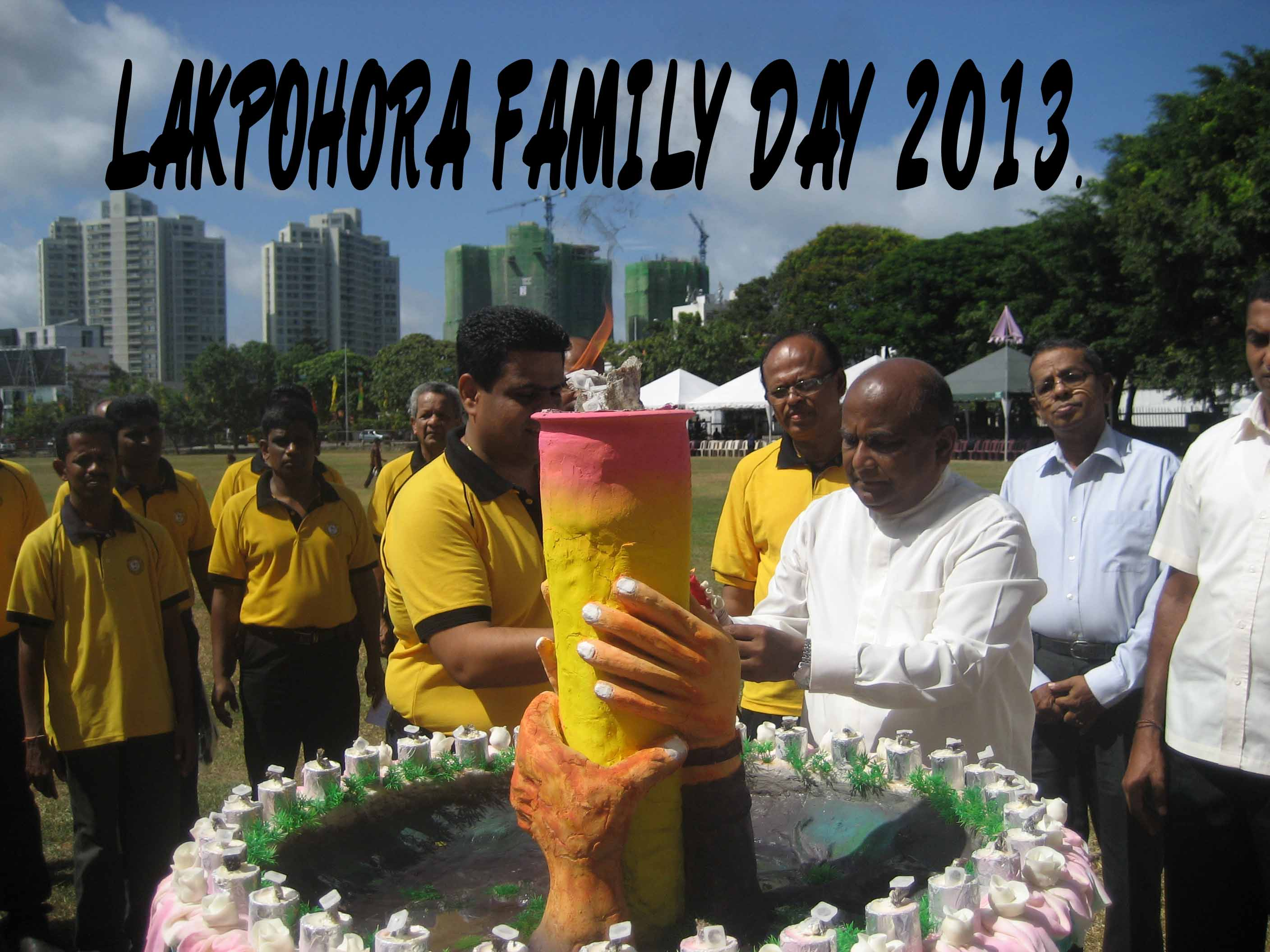Lakpohora Family Day 2013